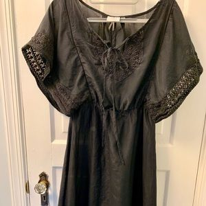 HD in Paris tunic coverup